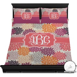 Mums Flower Duvet Cover Set (Personalized)