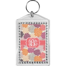 Mums Flower Bling Keychain (Personalized)