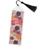 Mums Flower Book Mark w/Tassel (Personalized)