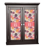 Mums Flower Cabinet Decal - Custom Size (Personalized)