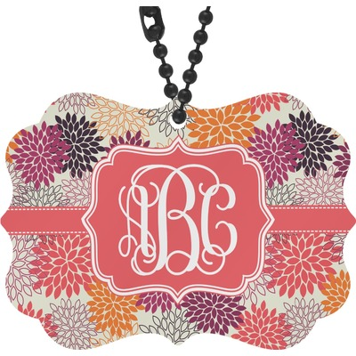 Mums Flower Rear View Mirror Decor (Personalized)