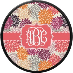 Mums Flower Round Trailer Hitch Cover (Personalized)