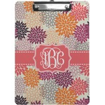 Mums Flower Clipboard (Personalized)