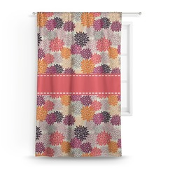 Mums Flower Curtain (Personalized)
