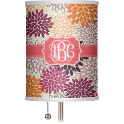 "Mums Flower 7"" Drum Lamp Shade (Personalized)"