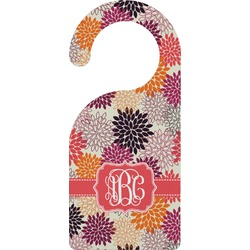 Mums Flower Door Hanger (Personalized)