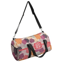 Mums Flower Duffel Bag - Multiple Sizes (Personalized)