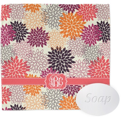 Mums Flower Washcloth (Personalized)