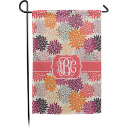 Mums Flower Garden Flag - Single or Double Sided (Personalized)
