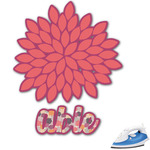 Mums Flower Graphic Iron On Transfer (Personalized)