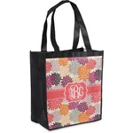 Mums Flower Grocery Bag (Personalized)