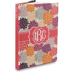 Mums Flower Hardbound Journal (Personalized)