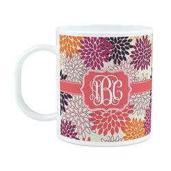 Mums Flower Plastic Kids Mug (Personalized)