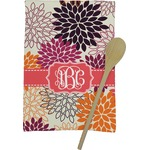 Mums Flower Kitchen Towel - Full Print (Personalized)