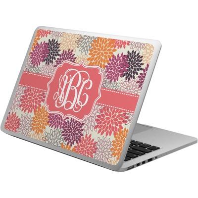 Mums Flower Laptop Skin - Custom Sized (Personalized)