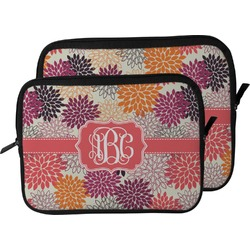 Mums Flower Laptop Sleeve / Case (Personalized)