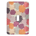 Mums Flower Light Switch Covers (Personalized)