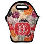 Mums Flower Lunch Bag w/ Monogram