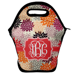 Mums Flower Lunch Bag w/ Monogram
