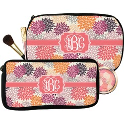 Mums Flower Makeup / Cosmetic Bag (Personalized)