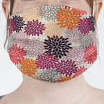 Mums Flower Face Mask Cover (Personalized)