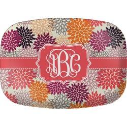 Mums Flower Melamine Platter (Personalized)