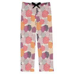 Mums Flower Mens Pajama Pants (Personalized)