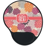 Mums Flower Mouse Pad with Wrist Support