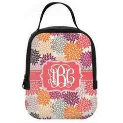 Mums Flower Neoprene Lunch Tote (Personalized)