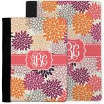 Mums Flower Notebook Padfolio w/ Monogram