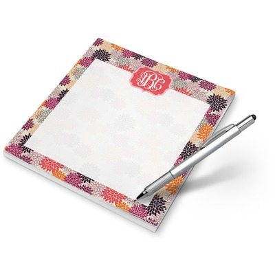 Mums Flower Notepad (Personalized)