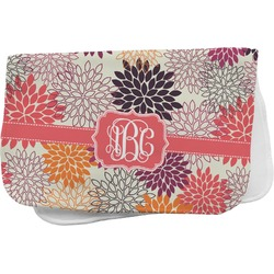Mums Flower Burp Cloth (Personalized)