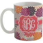 Mums Flower Coffee Mug (Personalized)