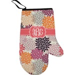 Mums Flower Right Oven Mitt (Personalized)