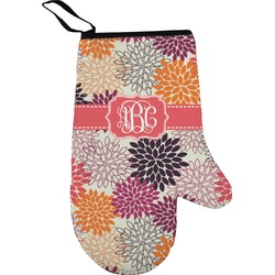Mums Flower Oven Mitt (Personalized)