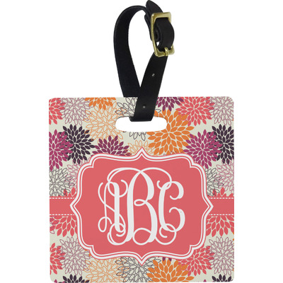 Mums Flower Luggage Tags (Personalized)