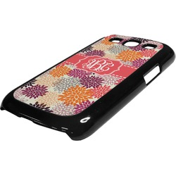 Mums Flower Plastic Samsung Galaxy 3 Phone Case (Personalized)