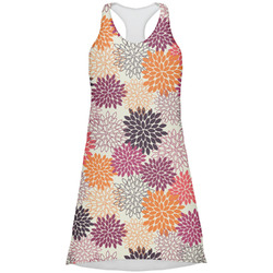 Mums Flower Racerback Dress (Personalized)