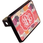 """Mums Flower Rectangular Trailer Hitch Cover - 2"""" (Personalized)"""
