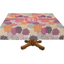 Mums Flower Tablecloth (Personalized)