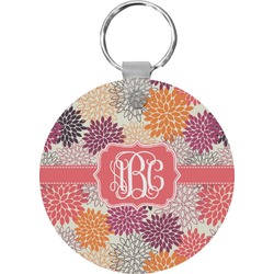 Mums Flower Keychains - FRP (Personalized)
