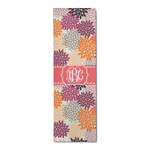 Mums Flower Runner Rug - 3.66'x8' (Personalized)