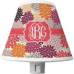 Mums Flower Shade Night Light (Personalized)