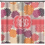 Mums Flower Shower Curtain (Personalized)