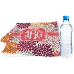 Mums Flower Sports & Fitness Towel (Personalized)