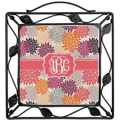 Mums Flower Trivet (Personalized)