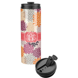 Mums Flower Stainless Steel Tumbler (Personalized)