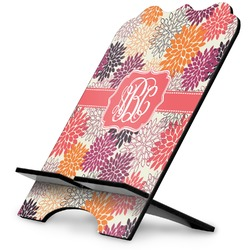 Mums Flower Stylized Tablet Stand (Personalized)