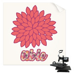 Mums Flower Sublimation Transfer (Personalized)