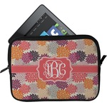 Mums Flower Tablet Case / Sleeve (Personalized)
